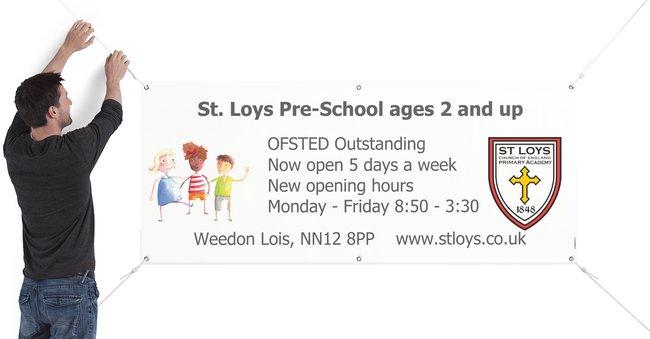 St. Loys pre-school opening hours