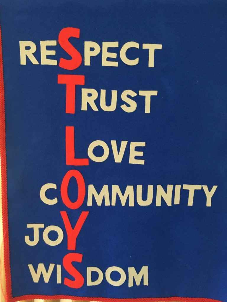 St Loys Values