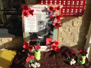 Remembrance Day display photo