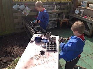 mud kitchen