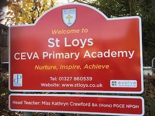 new school sign